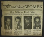 Newspaper Clipping from the Washington Post, June 14, 1953