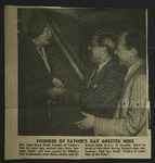 Newspaper Clipping, c. 1953