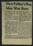 Newspaper Clipping, c. 1962
