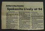 Newspaper Clipping from the Spokane Chronicle, c. 1976