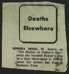 Newspaper Clipping, c. March 1978