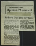 Newspaper Clipping from The Spokesman-Review, March 23, 1978
