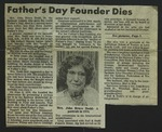 Newspaper Clipping from Spokane Daily Chronicle, March 22, 1978