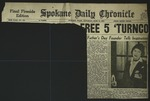 Newspaper Clipping from Spokane Daily Chronicle, June 18, 1955