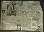 Newspaper Clipping from Spokane Daily Chronicle, August 31, 1955