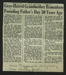 Newspaper Clipping from the Great Falls Tribune, June 19, 1960