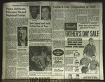 Newspaper Clipping from the Roanoke Times, June 13, 1965
