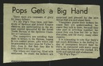 Newspaper Clipping, c. 1959