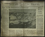 Newspaper Clipping from the Washington Post, May 12, 1974