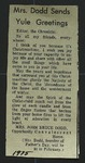 Newspaper Clipping from the Spokane Chronicle, c. 1975