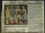 Newspaper Clipping from Spokane Daily Chronicle, June 16, 1960