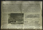 Newspaper Clipping from the Wilbur Register, June 9, 1960