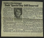 Newspaper Clipping, c. 1970