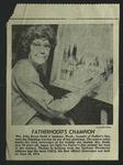 Newspaper Clipping, c. June 18, 1972