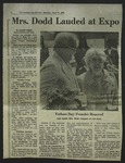 Newspaper Clipping from The Spokesman-Review, June 17, 1974