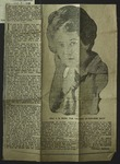 Newspaper Clipping from the News Tribune, August 7, 1910