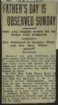 Newspaper Clipping from Pontiac Gazette, June 20, 1914