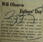 Newspaper Clipping from The Coshocton Times, June 16, 1914