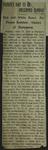Newspaper Clipping from the Waynesboro Herald, June 19, 1914