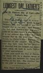 Newspaper Clipping from Bartlesville Enterprise, June 22, 1914