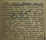 Newspaper Clipping from the Topeka Capital, May 15, 1915