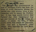 Newspaper Clipping from St. Joseph Herald, May 15, 1915
