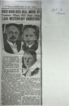 Photocopy of Newspaper Clipping, originally published May 12, 1916