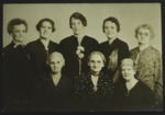 Group of 8 Women, Silver Anniversary of Father's Day, 1935
