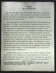"""Biography of Mrs. John Bruce Dodd"" by Edgar I. Stewart, 1957 by Edgar I. Stewart"