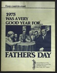 Father's Day Council Annual Report, 1975