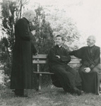 Father Antoine Cotta with Father Raymond de Jaegher