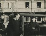 Father Charles Meeus with Bishop Simon Tsu