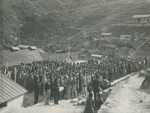 A School Assembly at the Refugee Camp