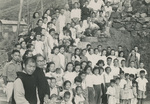 Group Photo of Residents of the Refugee Camp
