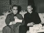 Bishop Yu Pin and Father Albert Palmers