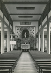 Interior of the Our Lady of Lourdes church on Chongming island