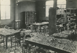 Damages at the Library of the National Health Administration