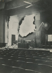 Inside the Hospital's Damaged Auditorium