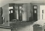 A Corridor of the Damaged Hospital
