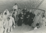 Bishops and Laymen Returning from the International Eucharistic Congress of Manila