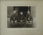 Fr. Vincent Lebbe with Bishops Melchior Sun Dezhen and Zhao Huaiyi