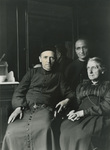 Fr. Vincent Lebbe with His Mother and Fr. Anthony Cotta