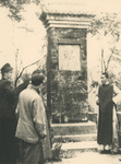 Funeral Stele of Fr. Vincent Lebbe at Geleshan