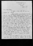 Letter to Hazel Todd