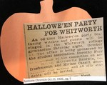 Hallowe'en Party for Whitworth