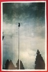 Student Atop the Flag Pole