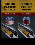 Union Pacific Railroad Time Tables