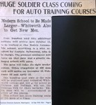 Huge Soldier Class Coming For Auto Training Courses