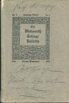 Whitworth College Bulletin 1904-1905