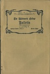 Whitworth College Bulletin 1910-1911